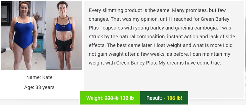 Green Barley Plus Supplement Review
